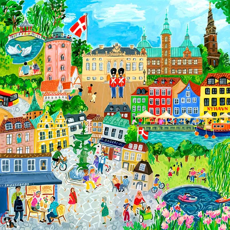eeBoo København puslespil