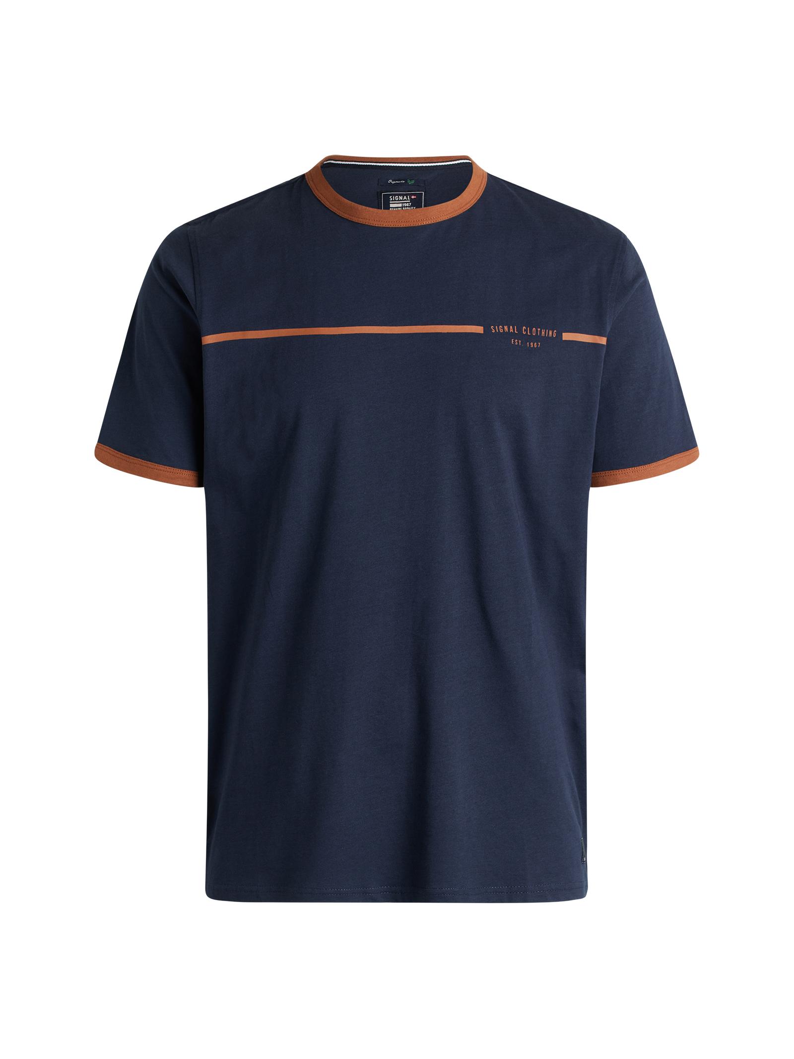 Signal New Aldo T-shirt, Duke Blue, M