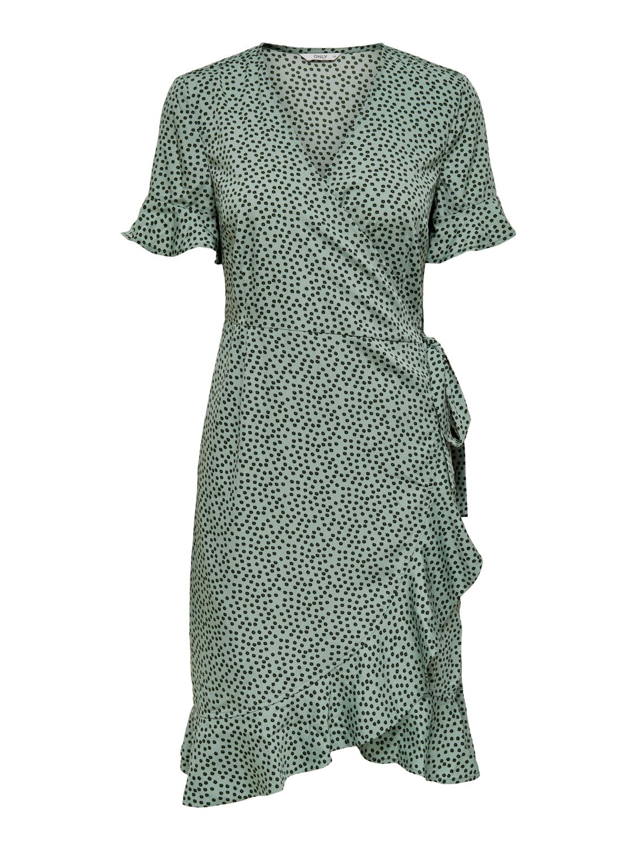 Only Olivia Wrap kjole