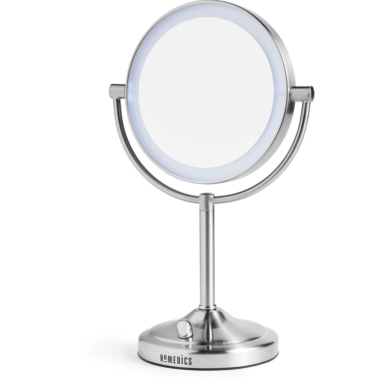 Homedics dobbeltsidet make-up spejl