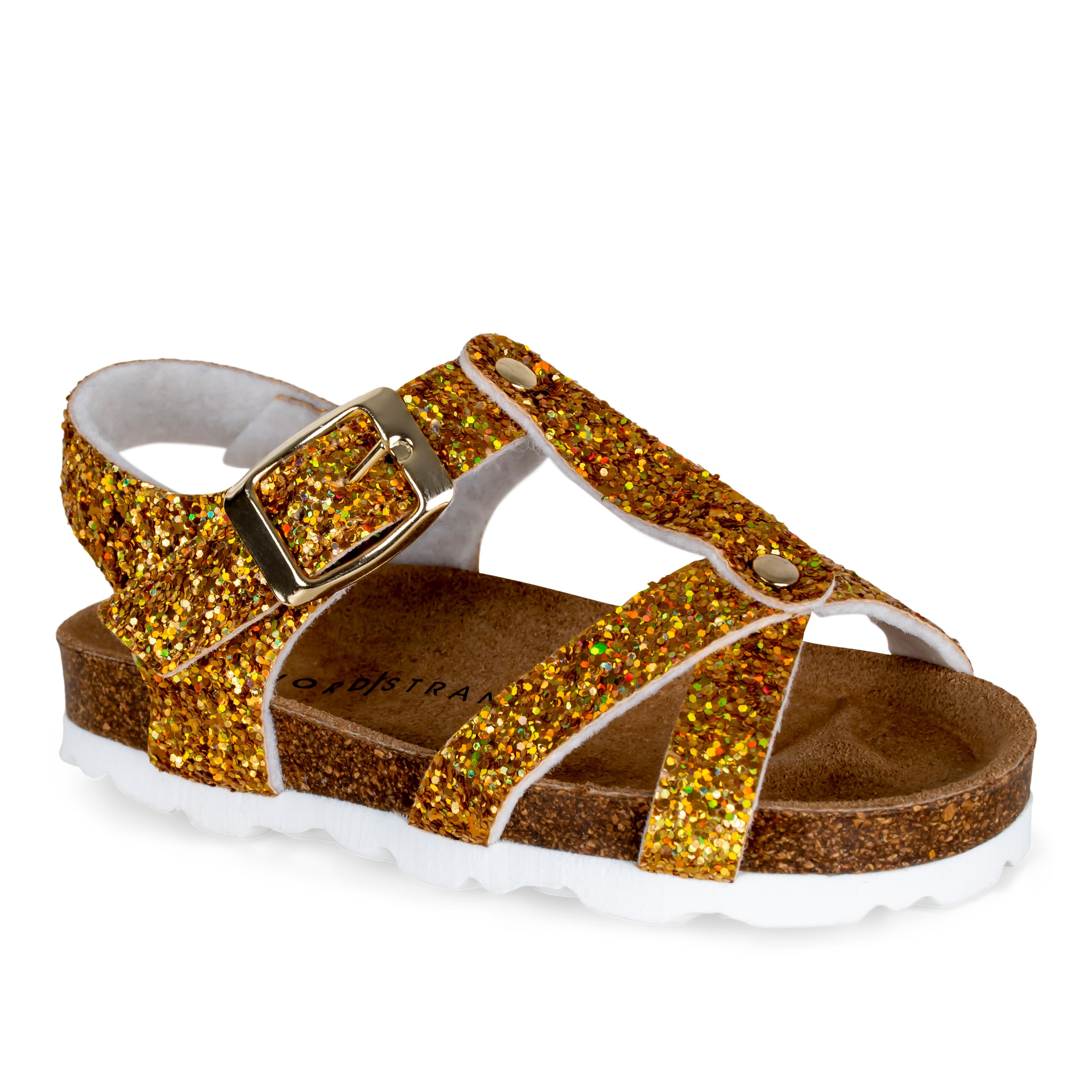 Nordstrand 11229 sandal, gold glitter, 34