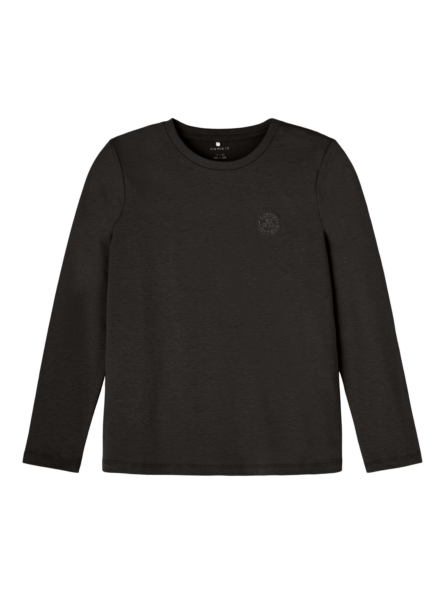 Name It Tano LS top, Black, 134-140