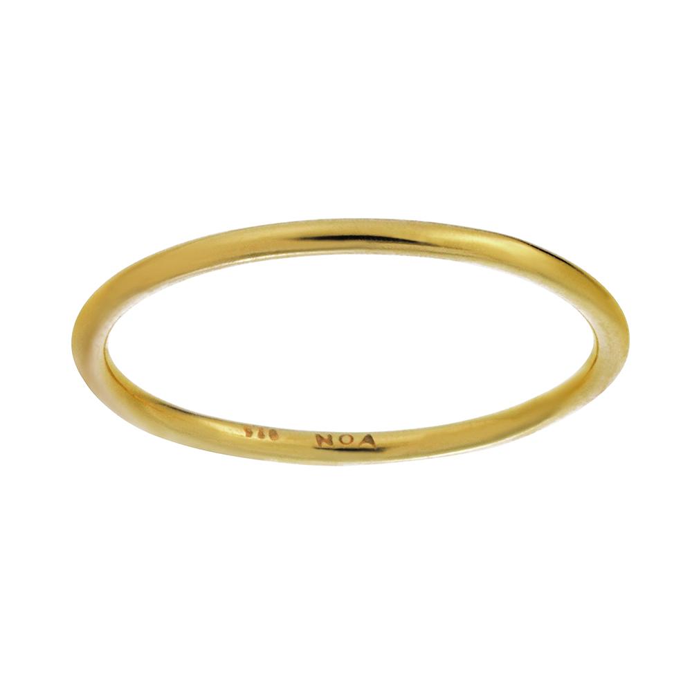Nordahl Smooth ring, guld, 54