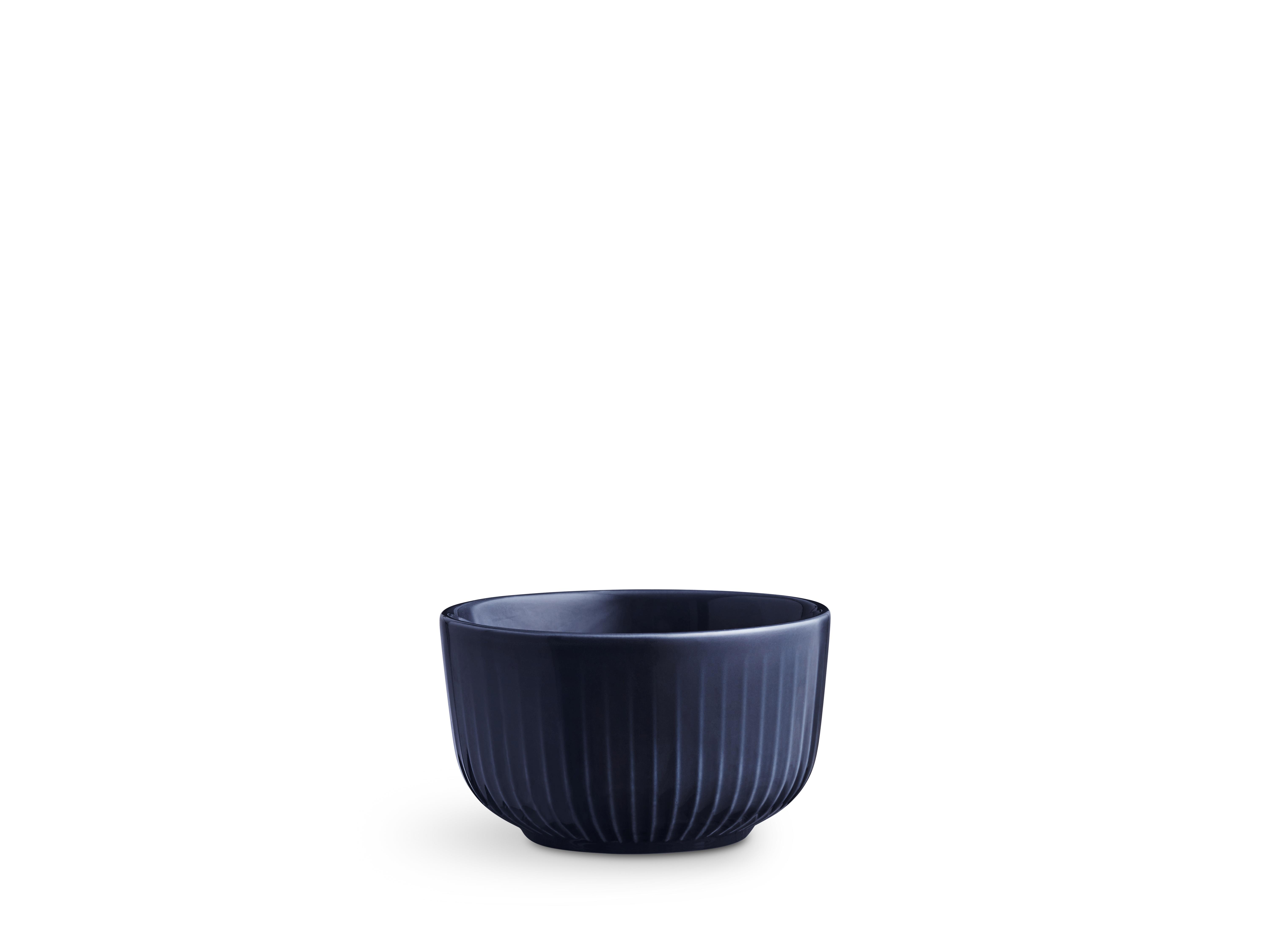 Kähler Hammershøi skål, Ø11 cm, indigo