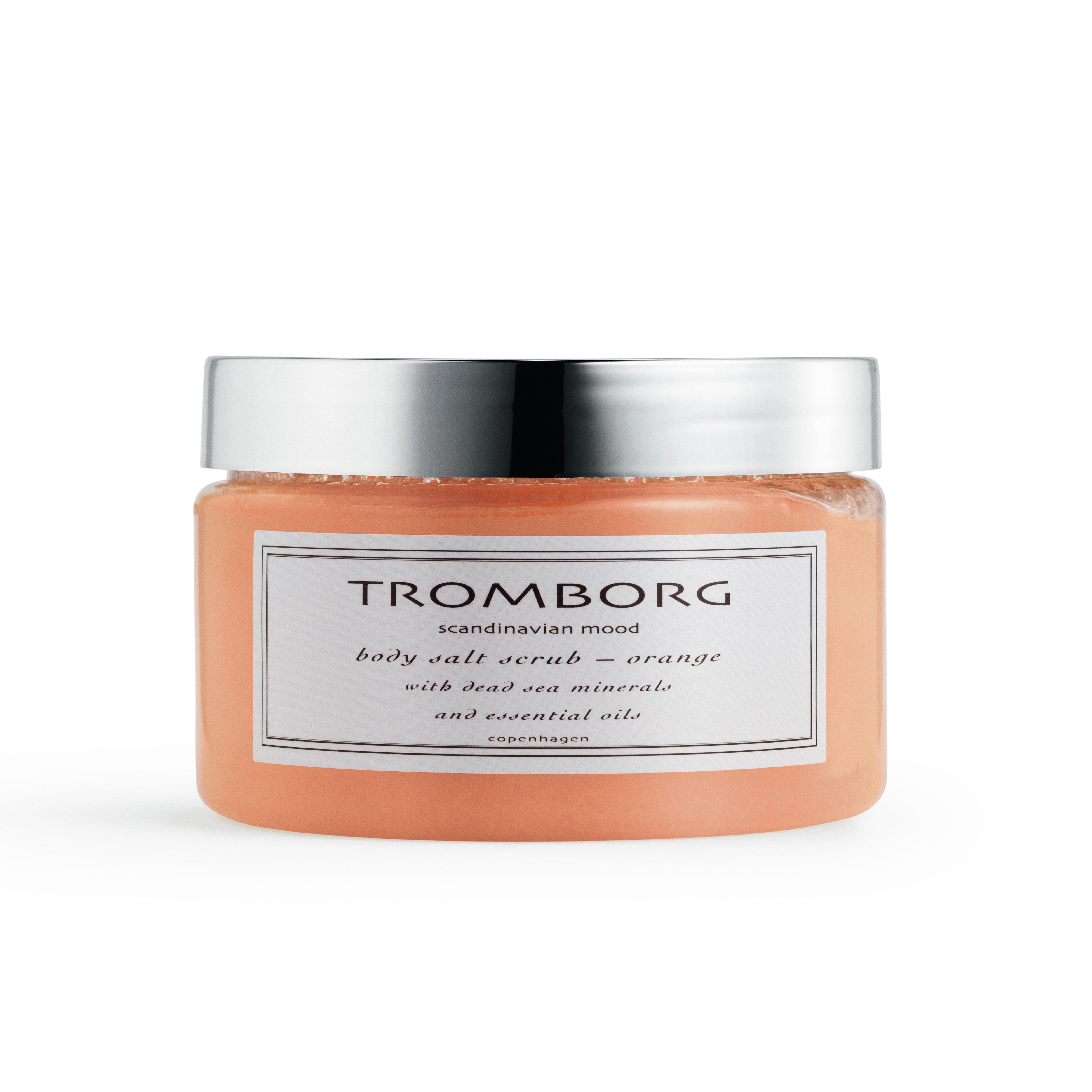 Tromborg Body Salt Scrub, orange, 350 ml