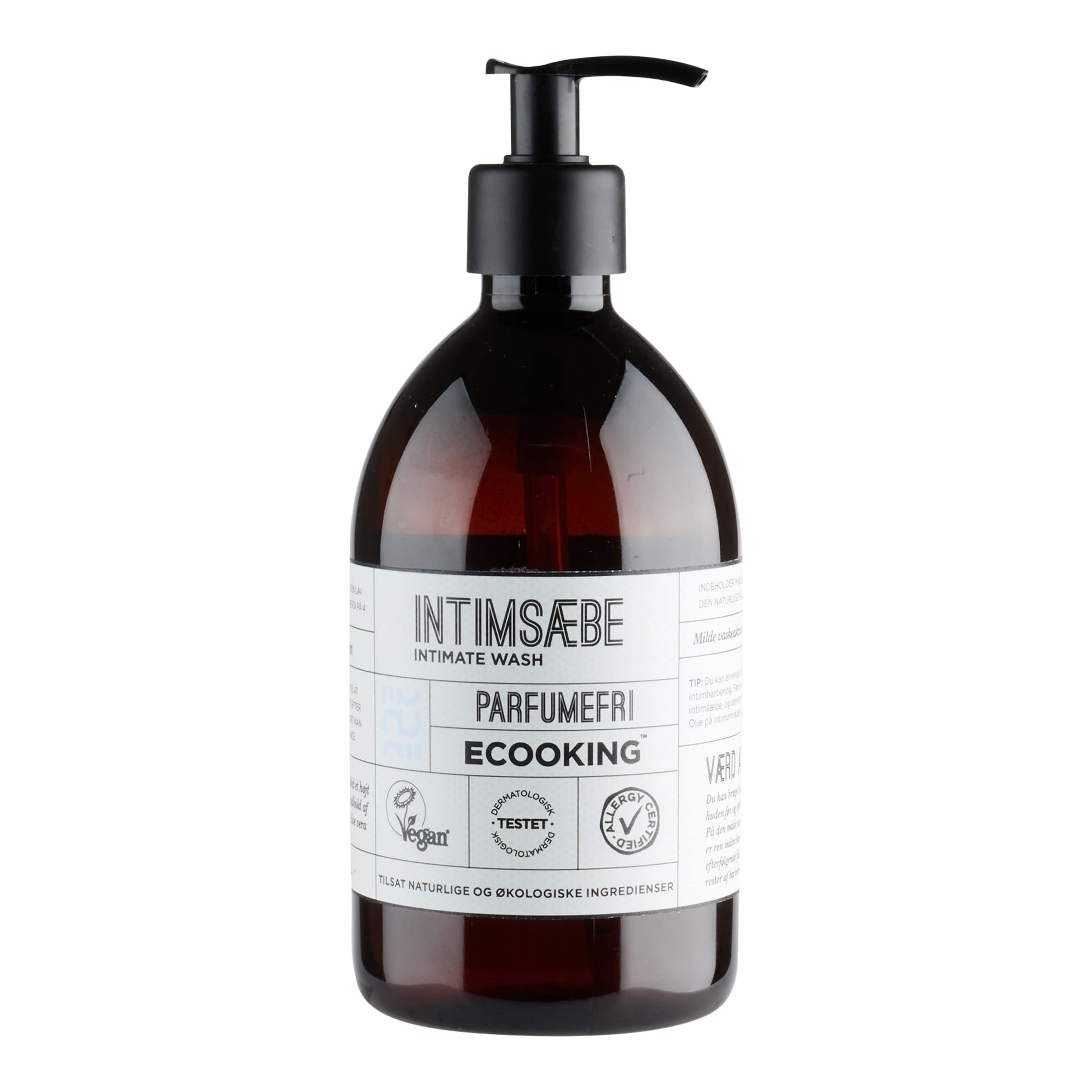 Ecooking Parfumefri Intimsæbe, 500 ml