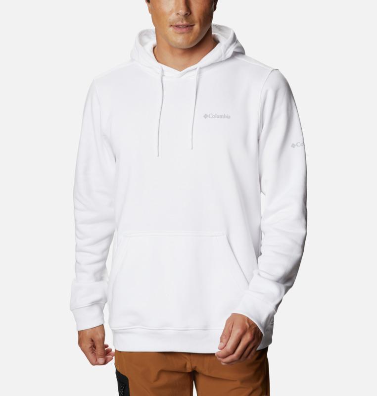 Columbia Basic Logo Hættetrøje, Hvid, L