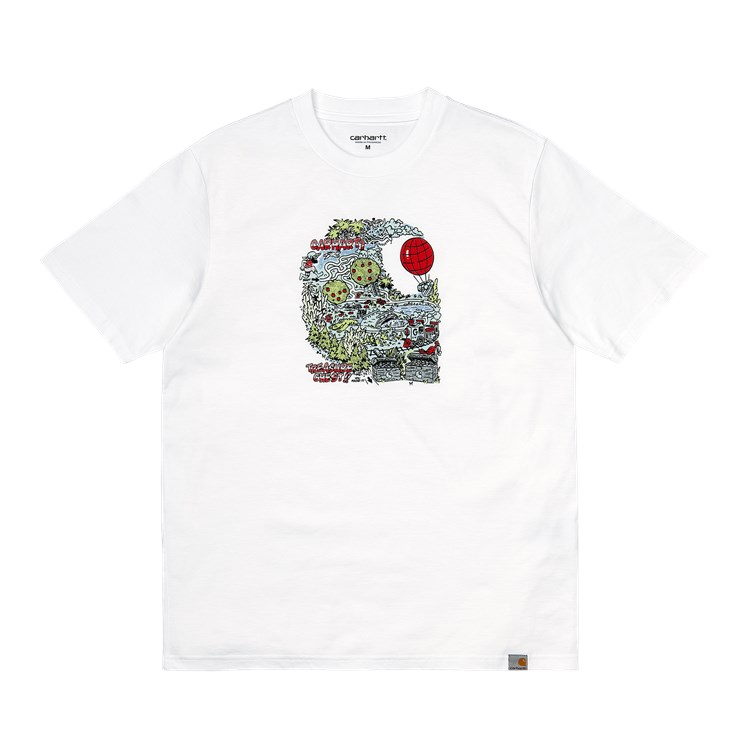 Carhartt Treasure C t-shirt, white, x-small
