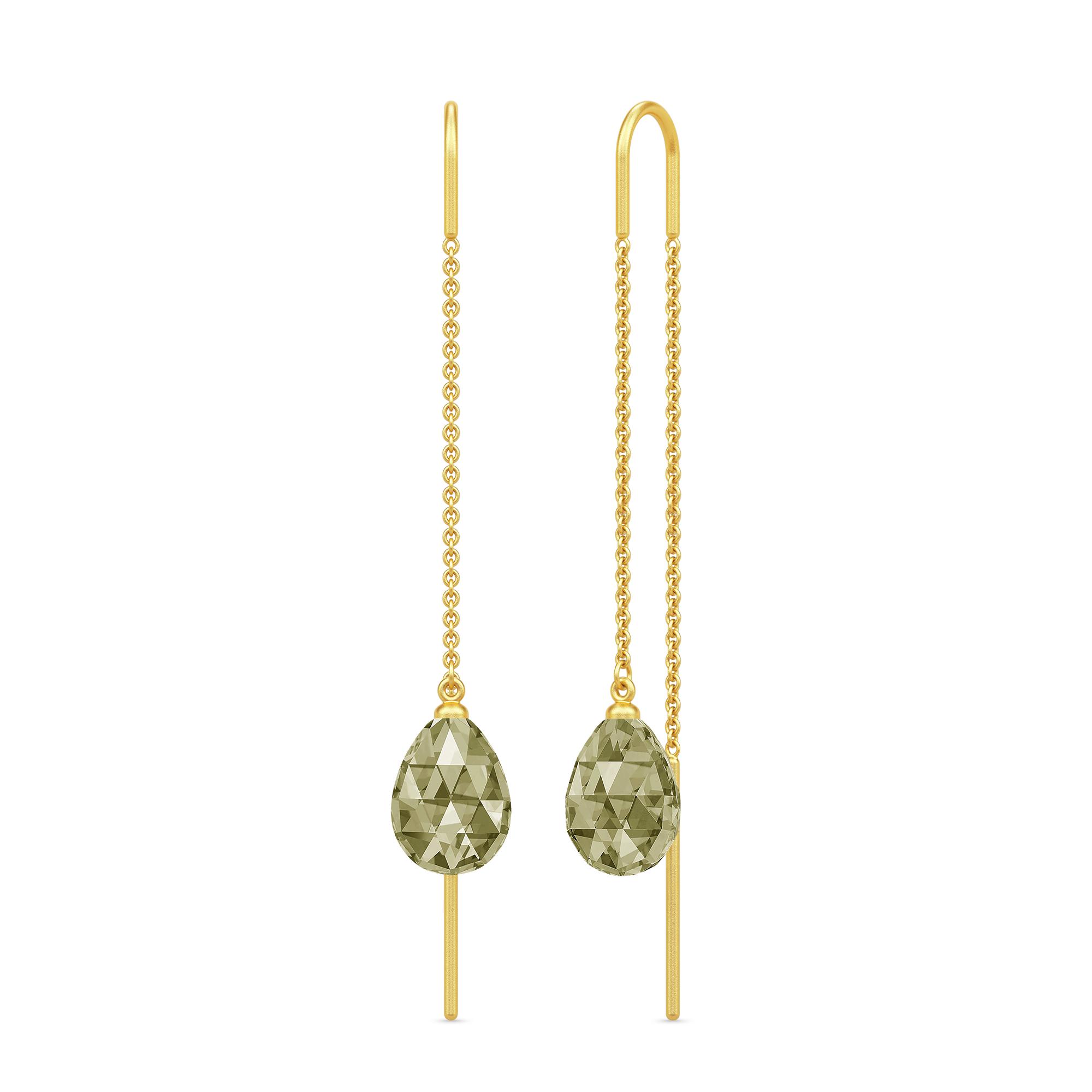 Julie Sandlau Eve øreringe, guld