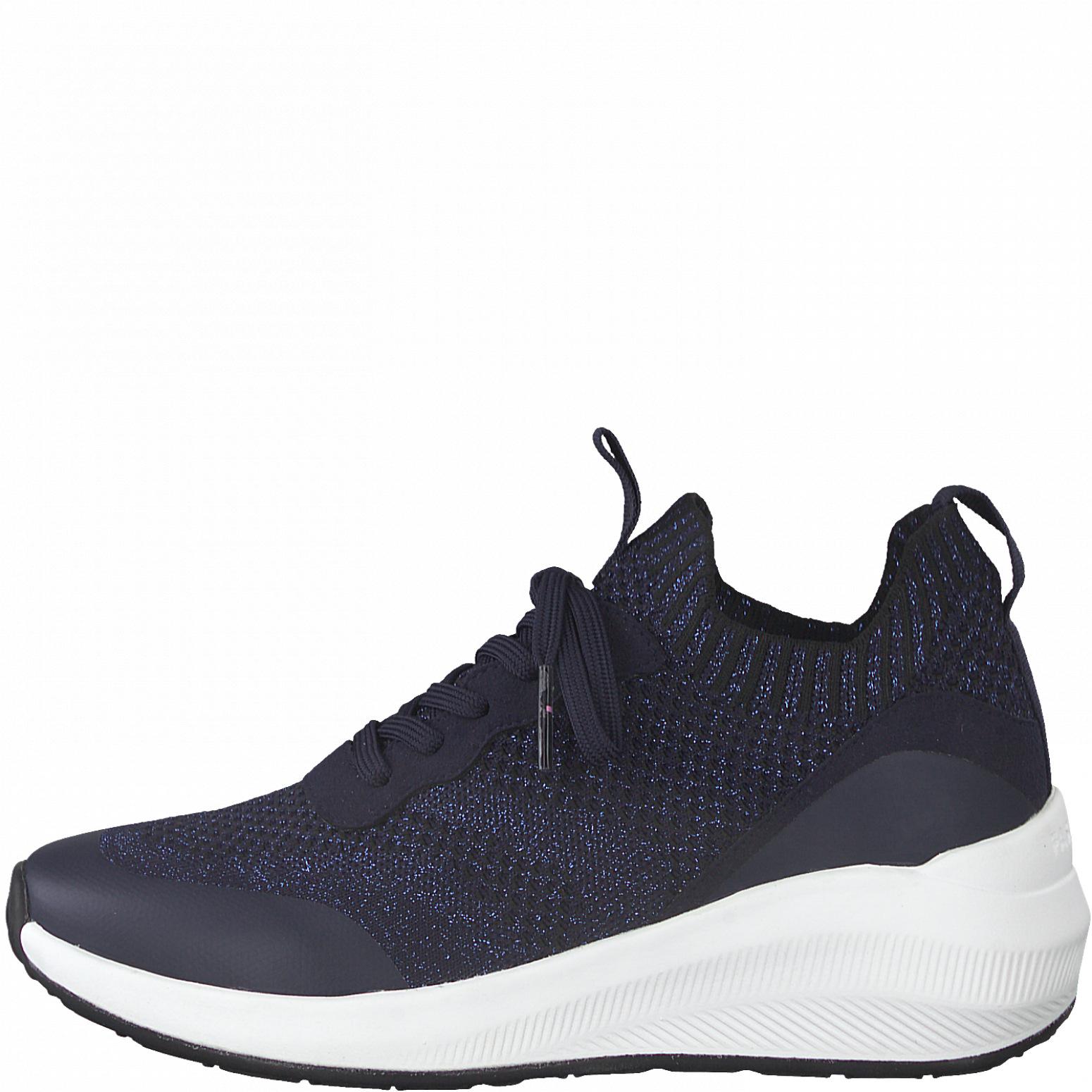 Tamaris 23758 sneakers, black silver, 37