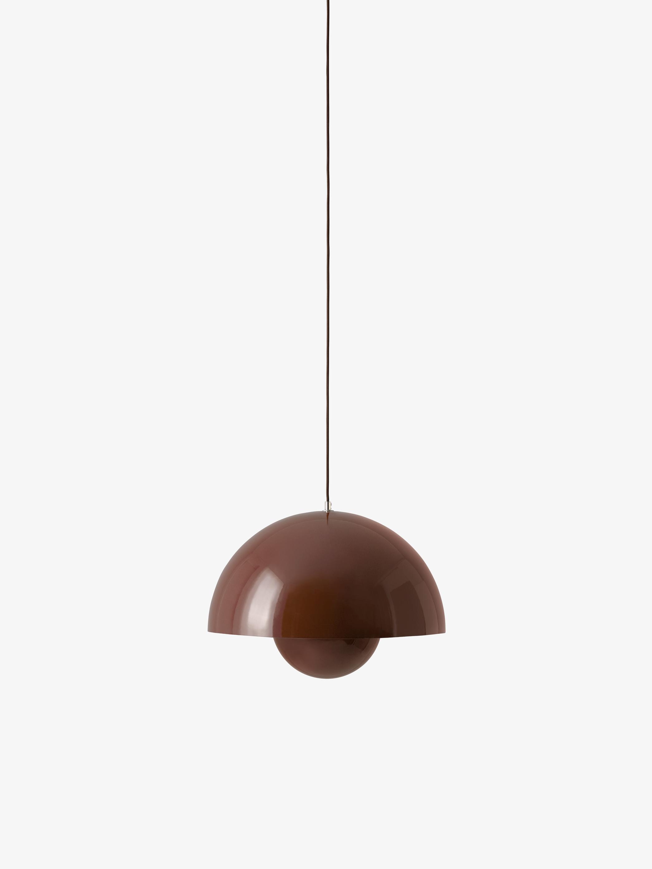&tradition Big Flowerpot VP2 pendel, Ø50 cm, red brown