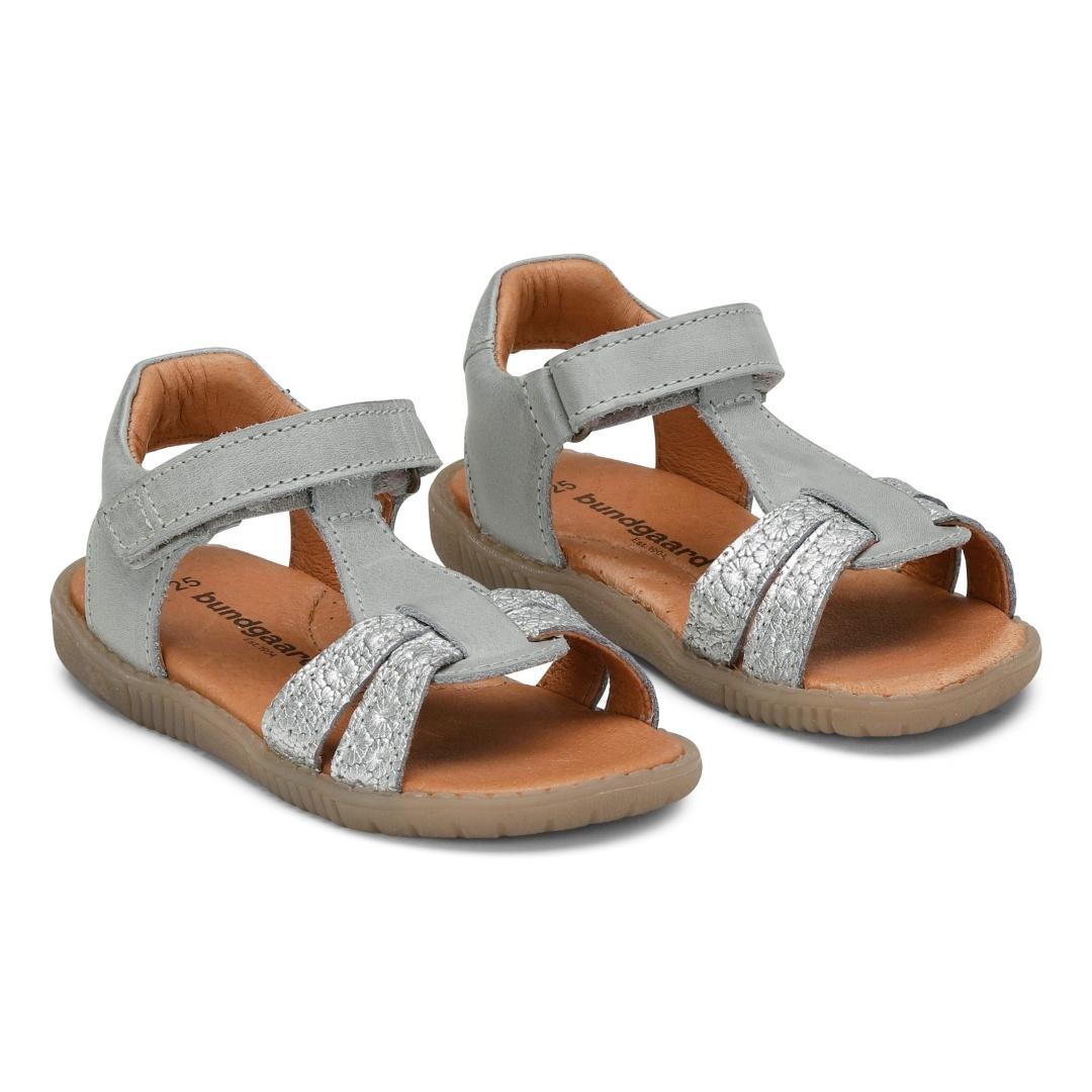 Bundgaard Raven sandal, sølv, 28