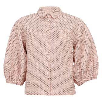 Coster Copenhagen quiltet jakke, light rose, 42
