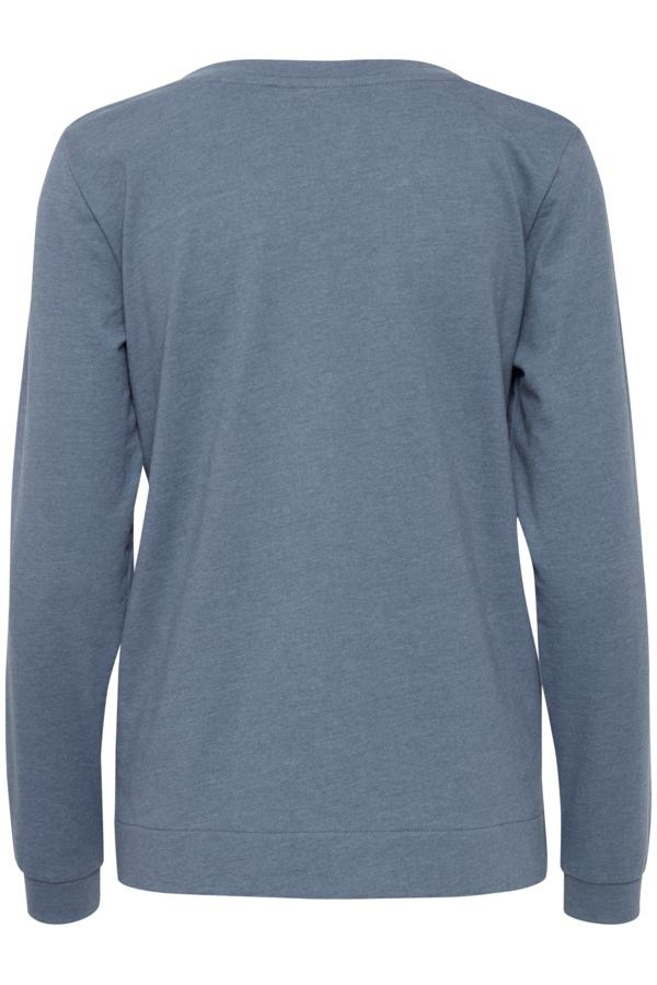 Fransa Passion sweatshirt, China Blue, S