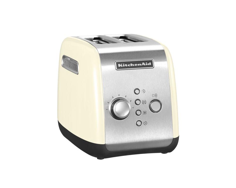 KitchenAid toaster, cream