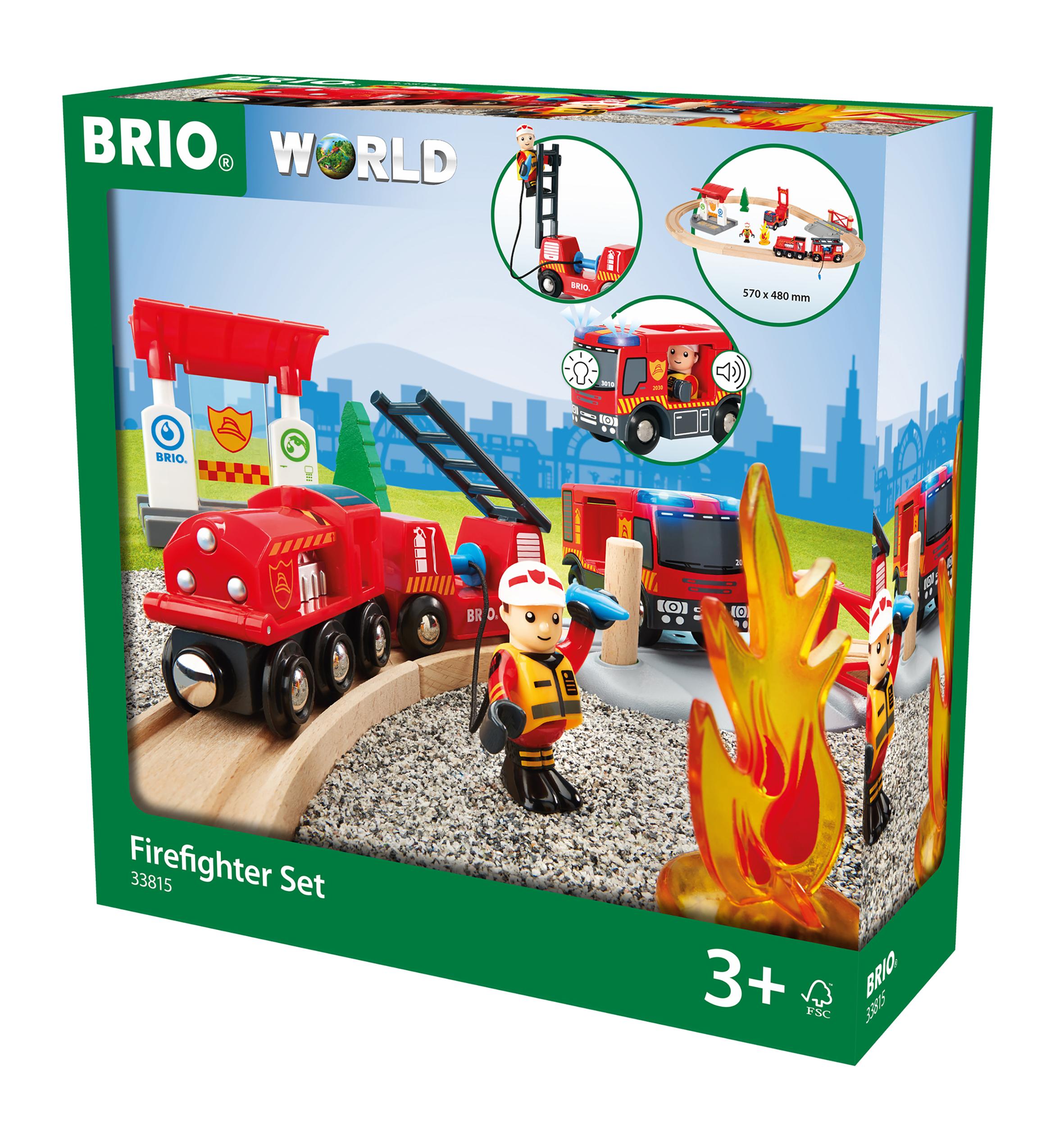 BRIO Togbane m. brandmandstema