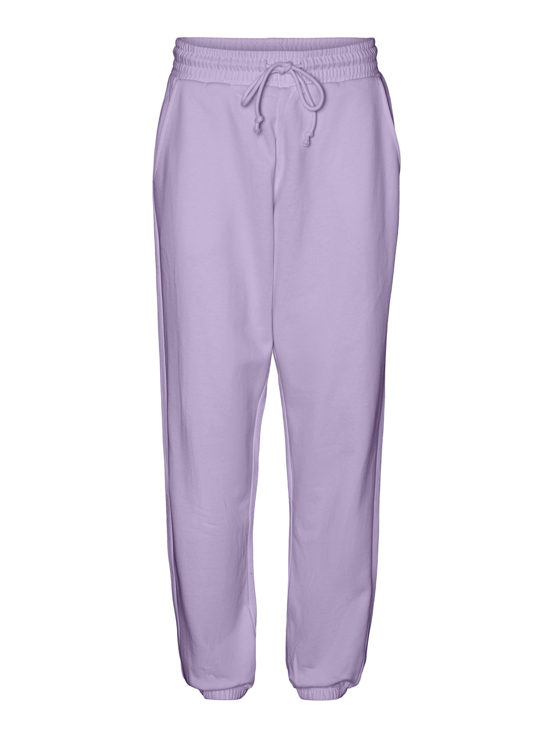 Vero Moda Oper HW sweatpants, pastel lilac, medium