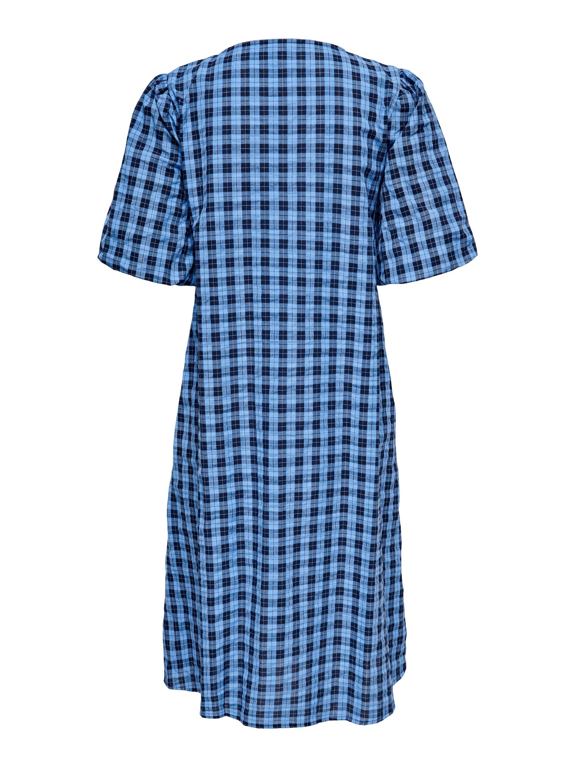 Jacqueline de Yong Chick kjole, vista blue, 40