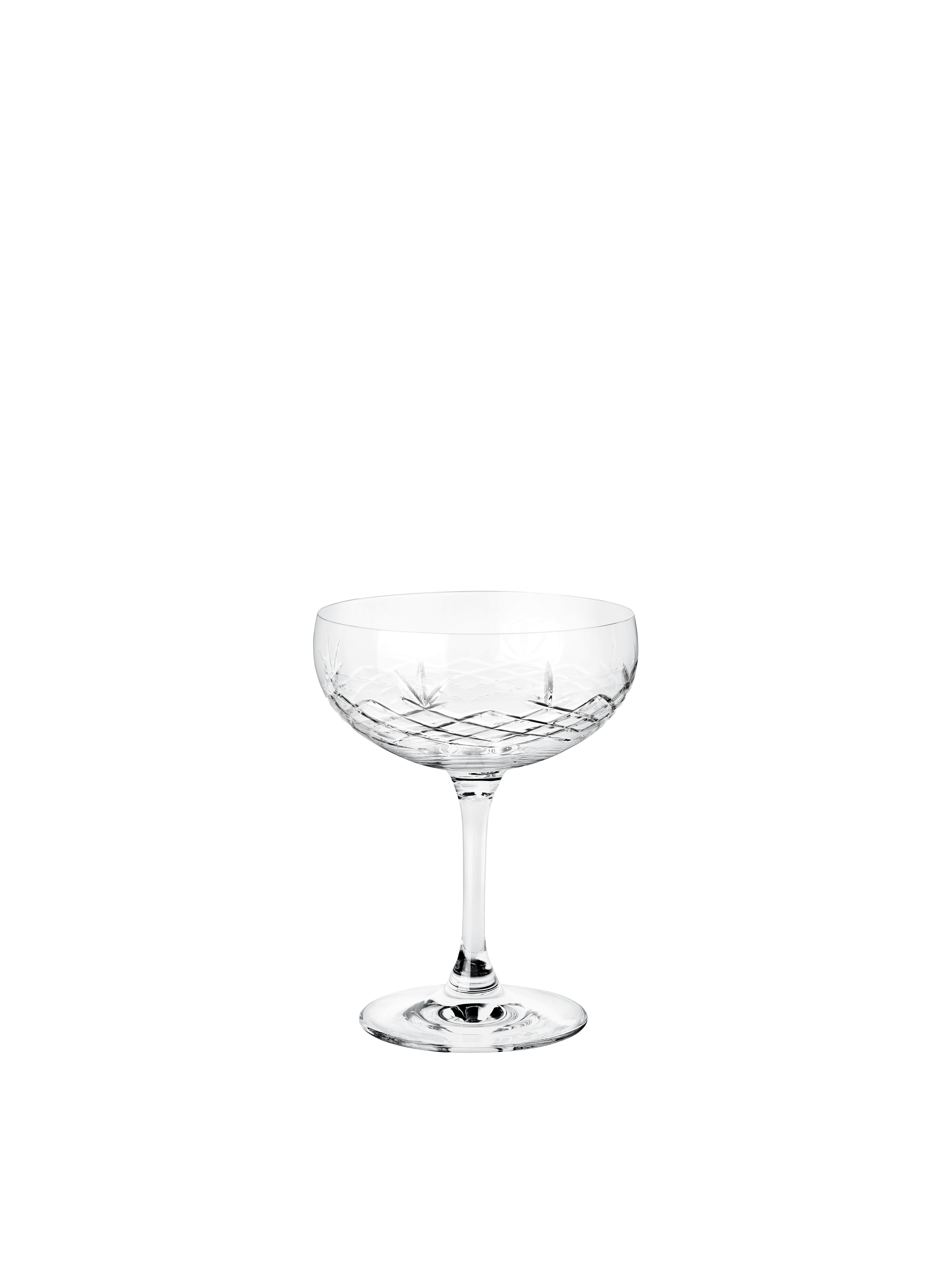Frederik Bagger Crispy Gatsby champagneglas, 2 stk
