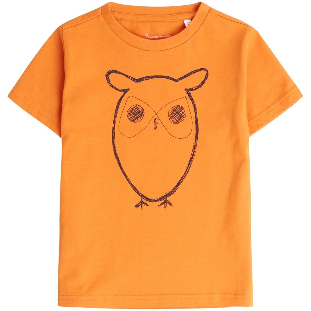 KnowledgeCottonApparel owl t-shirt, abricut buff, 158-164
