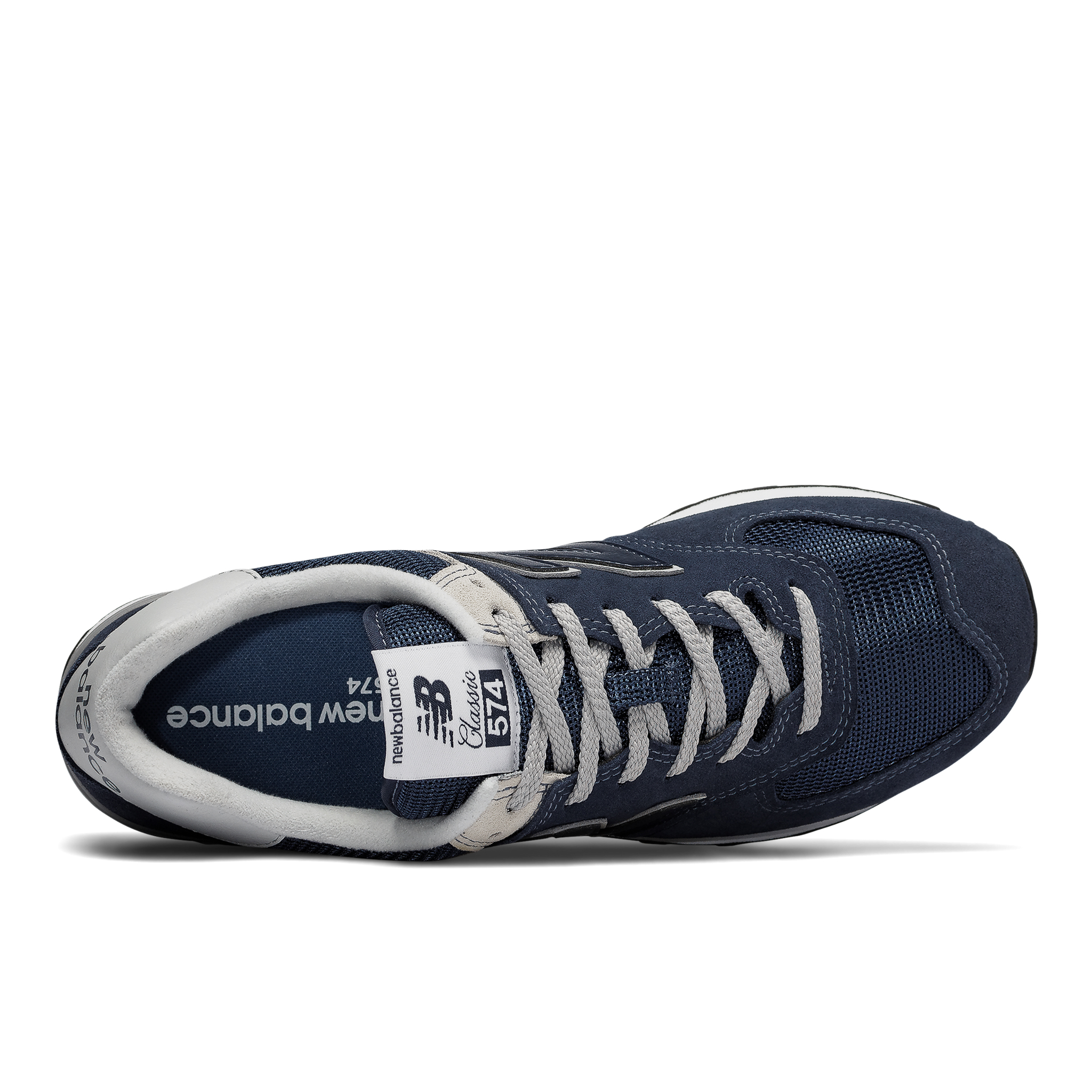 New Balance 574 sneakers, blue, 44