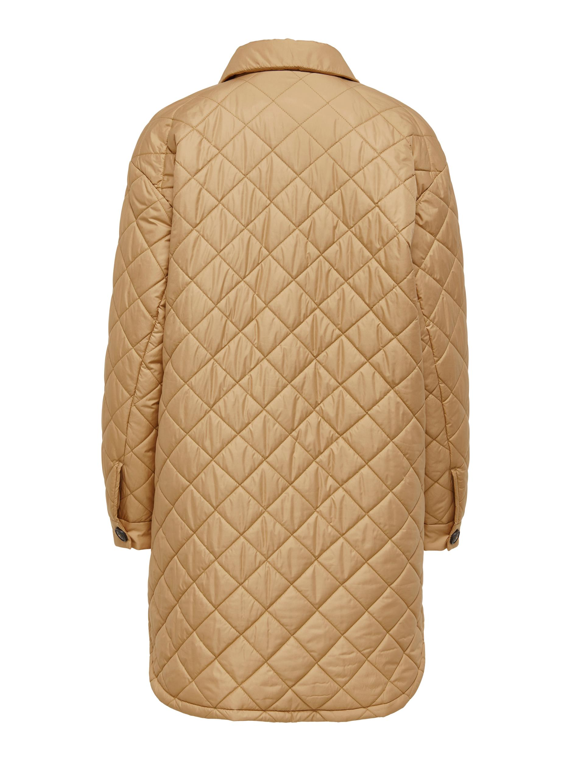 Only Tanzia Quilted jakke, tan, large