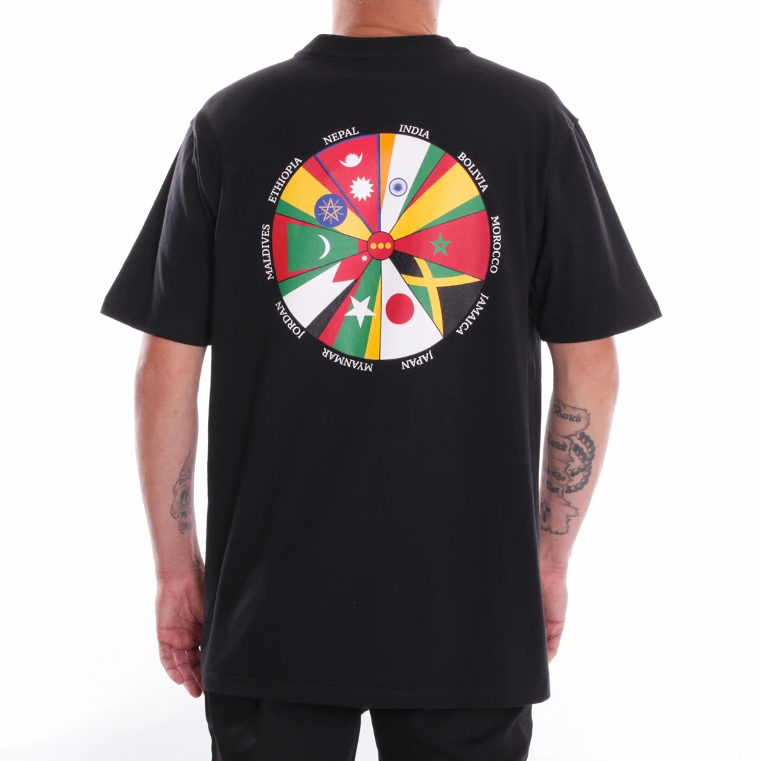 ALIS Going Global t-shirt, black, small