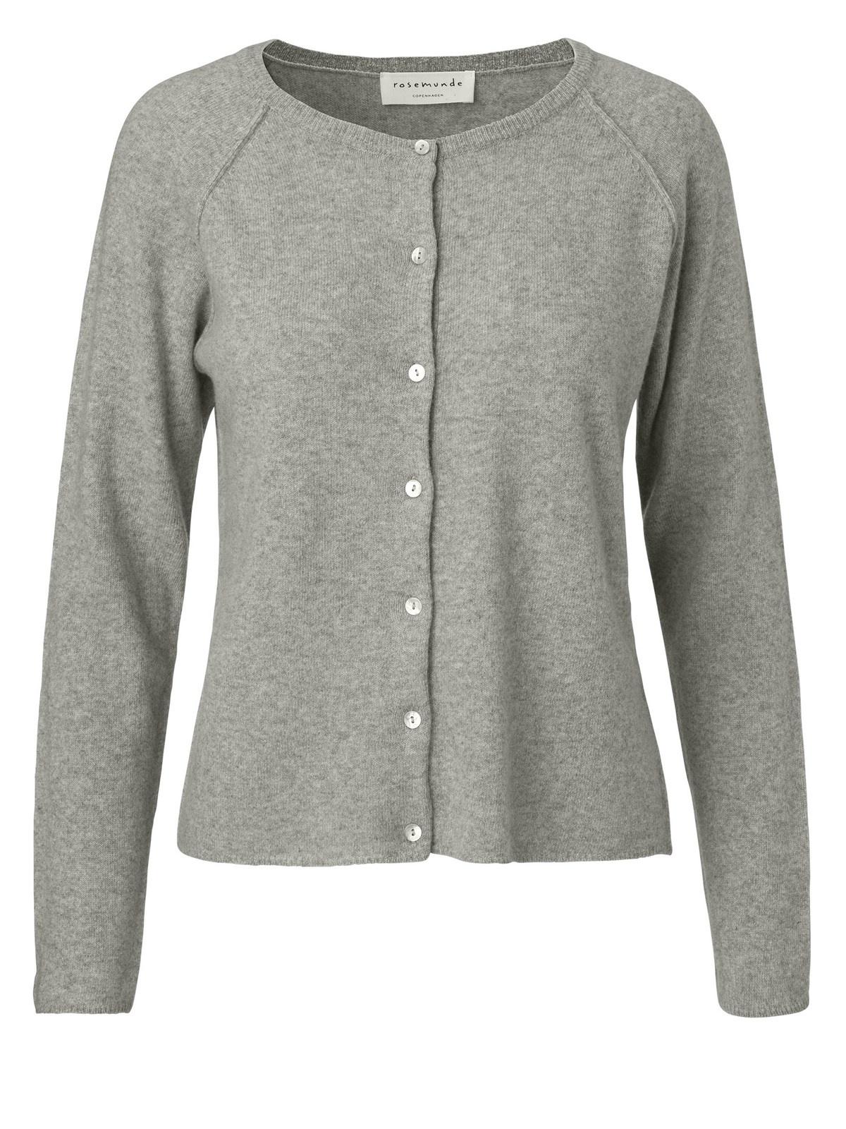 Rosemunde 1421 cardigan, light grey melange, large