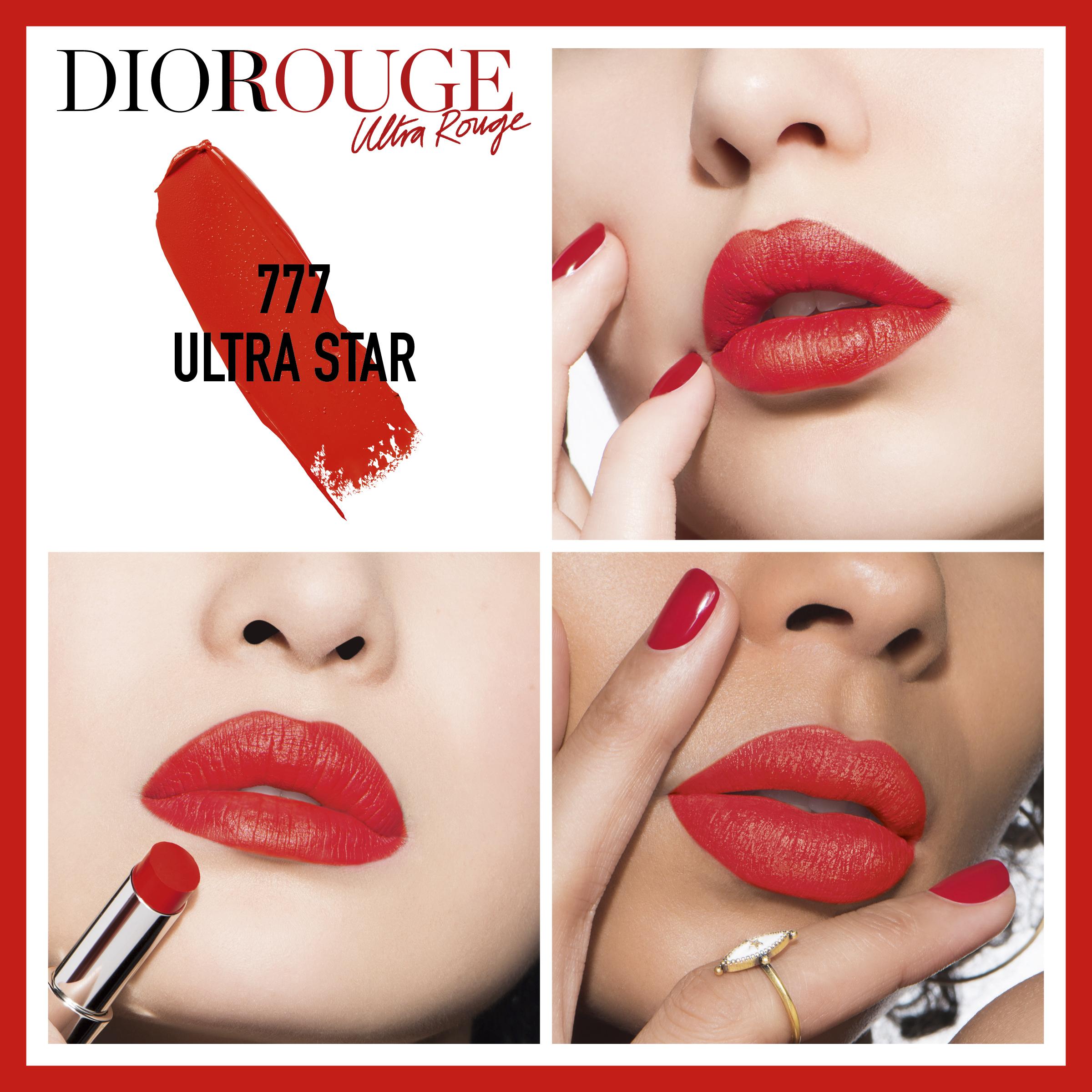 DIOR Rouge Dior Ultra Rouge, 777 Ultra Star