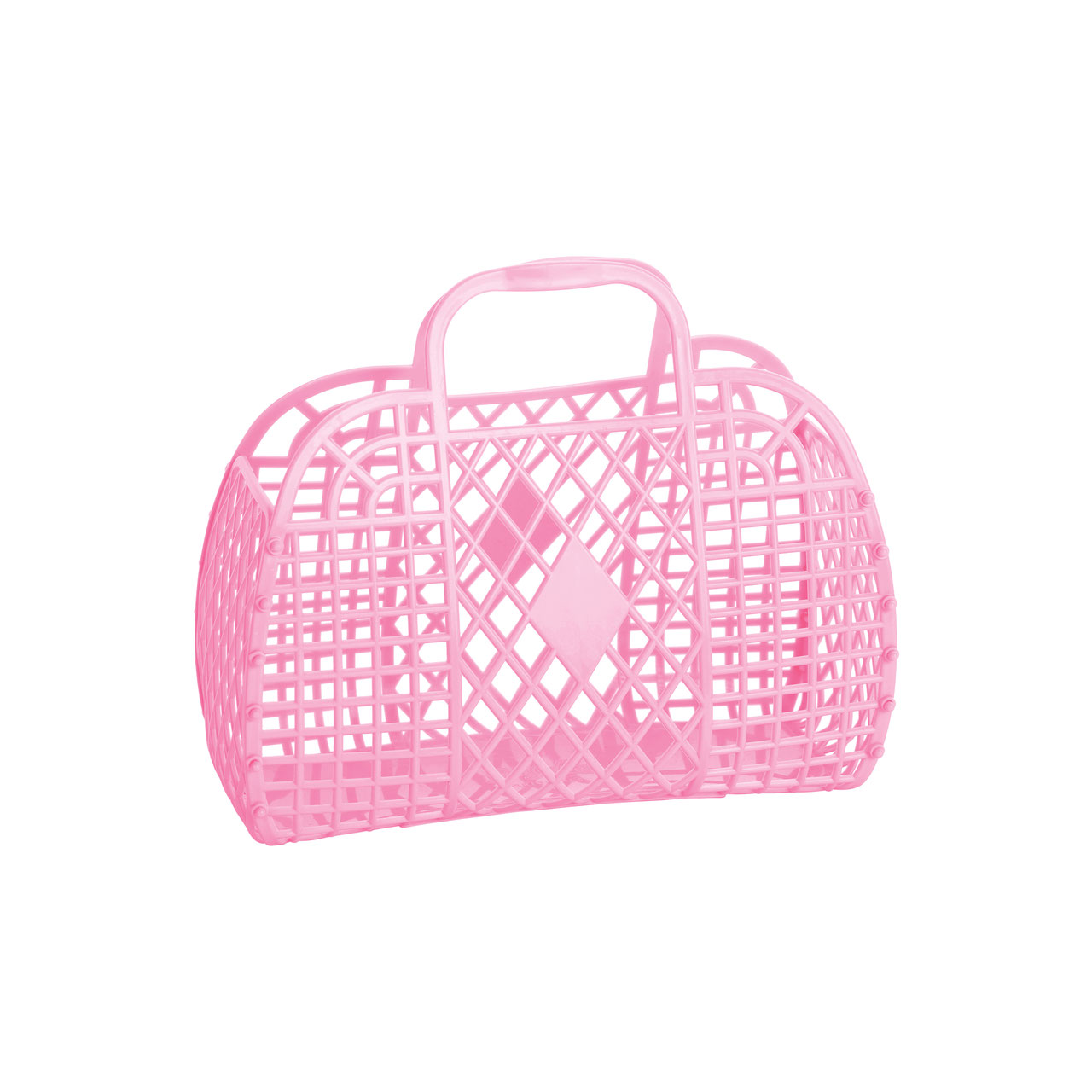 Sun Jellies Retro Kurvetaske, bubblegum pink, lille