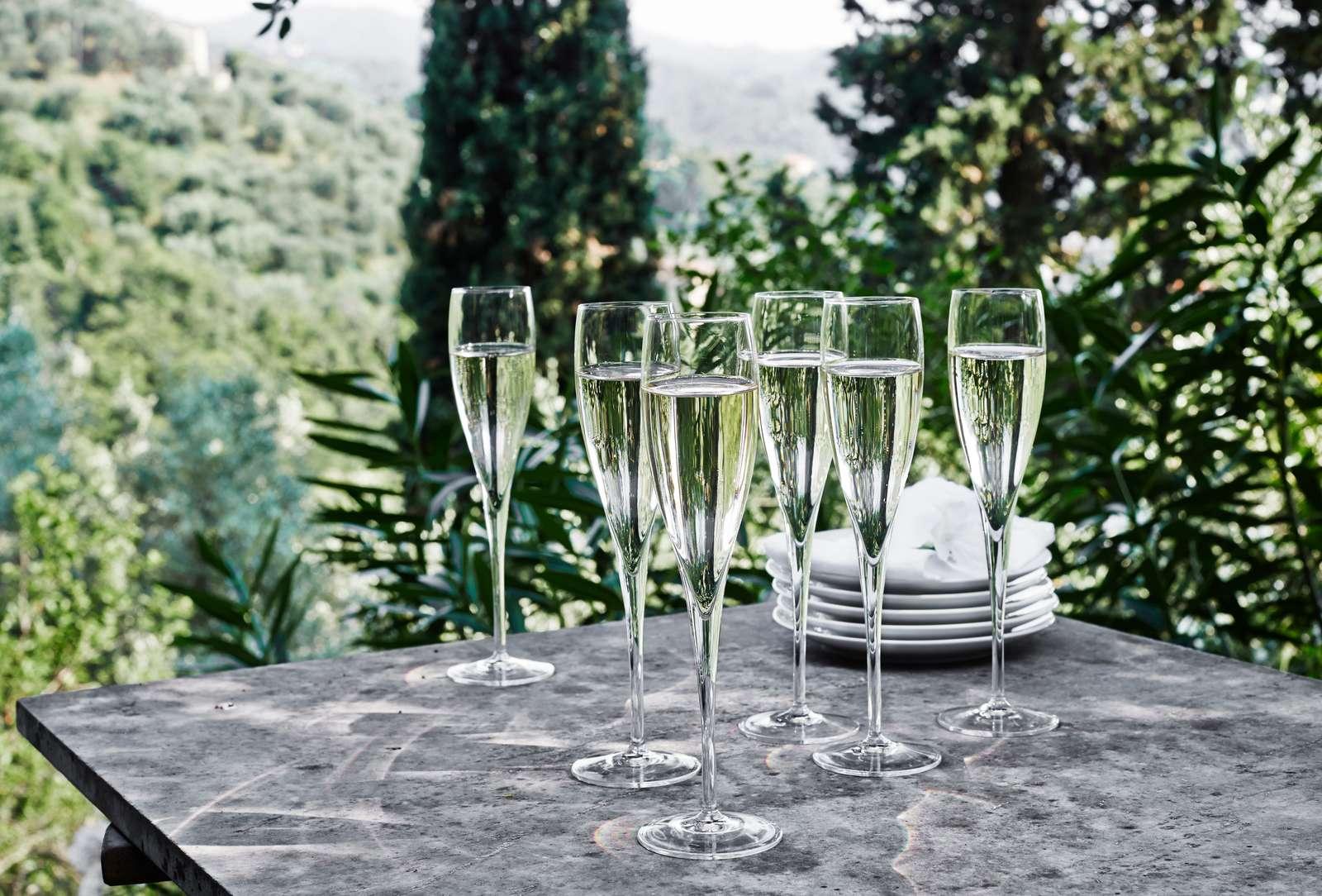 Luigi Bormioli Vinoteque Perlage champagneglas, 175 ml, 2 stk