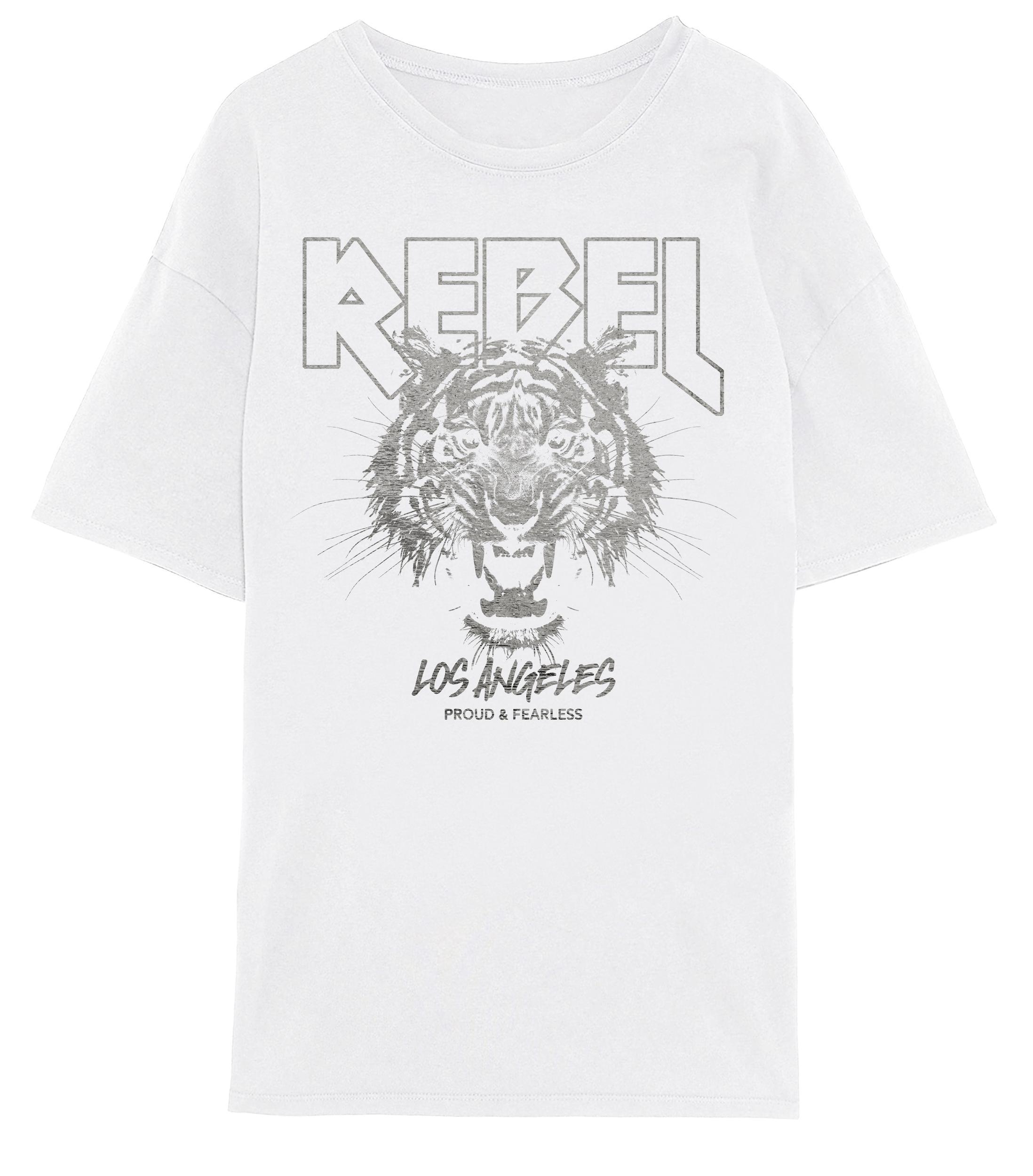 Vero Moda Forever oversized t-shirt, snow white, large