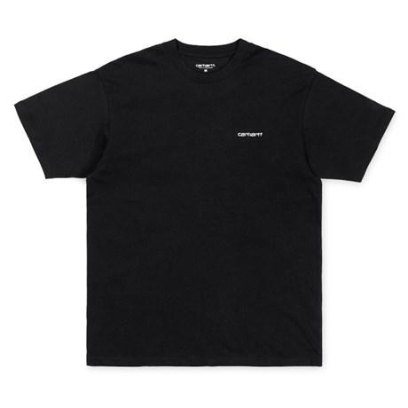 Carhartt SS Script embroidery t-shirt, Black, Medium